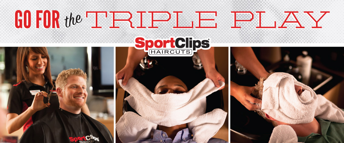 The Sport Clips Haircuts of Clayton Valley Shopping Center Triple Play
